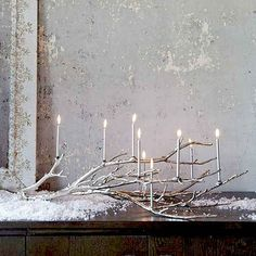 Faux Snow | 28 Insanely Easy Christmas Decorations To Make In A Pinch