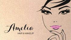Face of Woman Pink Lips Gold Makeup and Cosmetology Business Cards   https://www.zazzle.com/z/ypbip?rf=238835258815790439&tc=GBCCosmetology1Pin