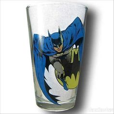 Images of Batman by Neal Adams Pint Glass