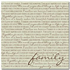Family,Heritage and Friends Scrapbook Paper and Sticker