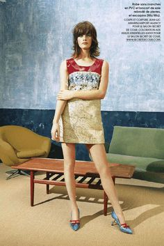 Milly Simmonds by Bruna Kazinoti for Marie Claire France September 2014