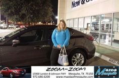 #HappyAnniversary to Kathryn Rowland on your 2014 #Mazda #Mazda3 from Teresa Mayon at Mazda of Mesquite!