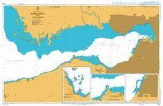 British Admiralty Nautical Chart 1522: Turkey - West Coast, Izmir Körfezi