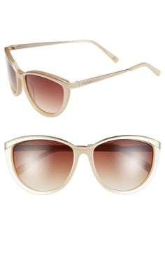 Lilly Pulitzer® 'Mittie' 56mm Cat Eye Sunglasses available at #Nordstrom