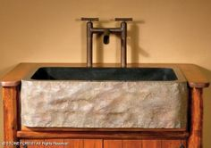 Stone Forest Natural Front Farmhouse Sink