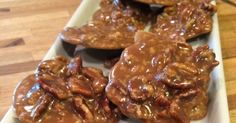 PRALINES 1 ½ cups sugar ¾ cup dark brown sugar ½ cup whole milk 1 teaspoon vanilla extract 6 tablespoons. Cooking For Two, Fun Cooking, Cooking Recipes, Cooking Icon, Cooking Hacks, Cooking Gadgets, Cooking Tools, Cooking Time, Pecan Recipes