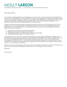 sample cover letter for a firefighter sampleresume resumetips for mark - Sample Cover Letter For A Resume