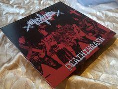 """Sarcofago – """"Deaththrash"""" LP LTD 100 Sepultura I.N.R.I. Rotting  Sarcófago  #BlackGothicMetalDeathMetal"""