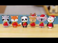 O Natal é a melhor época para o artesão. Pensando nisso, nós queremos te propor um desafio! Christmas Crafts, Merry Christmas, Christmas Decorations, Xmas, Christmas Ornaments, Holiday Decor, Lilo Stitch, Felt Crafts, Crafts To Make