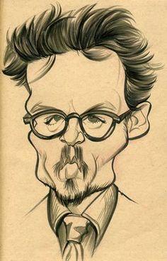 Johnny Depp by Zack Wallenfang