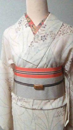 """夏着物・単衣 Kimono for summer """"KOMON"""" """"HITOE"""""""
