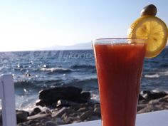 Bloody Mary at Sea Satin Market Restaurant #seasatinmarketrestaurant #seasatinmykonos #seasatin #capriceofmykonos #cocktails #mykonosrestaurant #visitmykonos #traveldestinations Summer Cocktails, Cocktail Drinks, Mykonos Restaurant, Rice Bar, Bloody Mary, Fresh Fruit, Rum, Watermelon, Travel Destinations