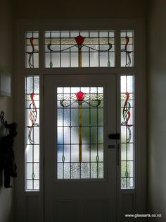 Incroyable Bespoke Stained Glass Windows For Villa Entryway. Front Door ...