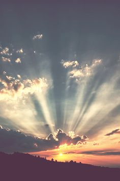 rays of sunshine  Sunset | ( by Urban Thaler )