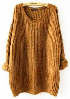 Algún jersey oversize color mostaza!