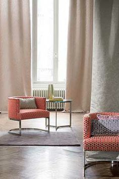 Studio collection from Casamance Hertex Fabrics, Casamance, Decoration, Upholstery, Curtains, Studio, Chair, Inspiration, Design