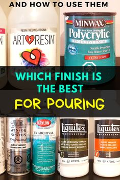 How to Varnish Acrylic Pour Painting. Complete Guide Best products Comparison crafts and play Acrylic Pouring Techniques, Acrylic Pouring Art, Tips And Tricks, Acrylic Paint On Wood, Acrylic Artwork, Acrylic Canvas, Pour Painting, Flow Painting, Painting Lessons