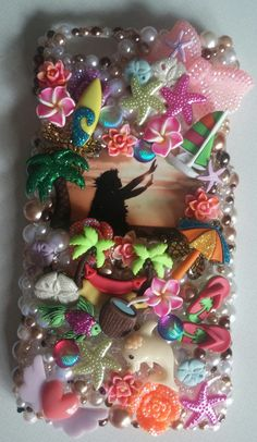 HAWAII Island Vacation Memories Handmade Travel Made to Order Peace Cell Phone Case Homemade IPhone 4 5 6 Plus Samsung by ExpressiveCases on Etsy