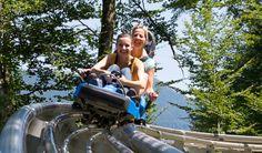 Alpine-Coaster-Golm - die spektakuläre Erlebnisbahn im Montafon