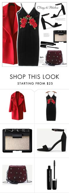 """""""classy&fab"""" by mycherryblossom ❤ liked on Polyvore featuring NARS Cosmetics, Chanel, Marc Jacobs, velvet, blackdress, polyvoreeditorial and polyvorestyle"""