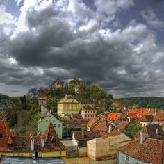 Medieval City Sighisoara - Romania Vlad Tepes The historical Dracula was born here in Beautiful ancient city to visit. Beautiful Places To Visit, Wonderful Places, Places To See, Empire Ottoman, Medieval Town, Central Europe, Eastern Europe, Around The Worlds, City