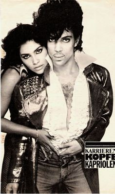 Vanity & Prince Avedon portrait '83 - Great Scan!