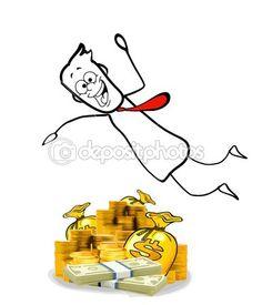 Sumérgete en dinero — Foto stock © Giovanni_Cancemi #49602043