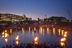 Waterfire, Providence.