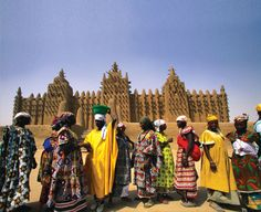 Explore the ancient city of Timbuktu, Mali, Africa. #travel #bucketlist