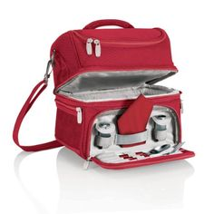 Picnic Time Pranzo Insulated Lunch Tote Red -- More info could be found at the image url.