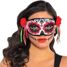 Day of the Dead Mask - Party City 9.99 NOT AVAILABLE AT THIS TIME