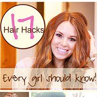 17 Hair #Hacks that every girl should know! - http://www.howdoesshe.com/16-hair-hacks-that-every-girls-should-know/#utm_sguid=156633,b93c1ef5-7e3c-ae4c-cf62-180fa980db9e #HairStyle