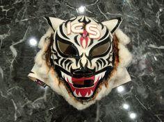 幻のサクマスク! サクホワイトタイガー