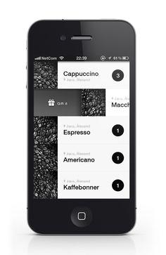 coffe iphone app