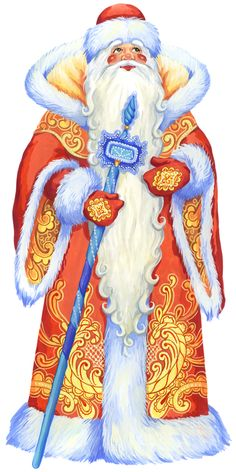"Photo from album ""Новогодние открытки"" on Yandex. Christmas Frames, Merry Christmas To All, Christmas Books, Father Christmas, Christmas Paper, Vintage Christmas, Xmas, Santa Claus Clipart, Santa Claus Images"