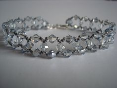 This girl makes amazing jewelry pieces with Swarovski Crystals. <3