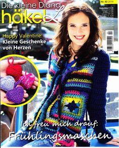 Die Kleine Diana H?kel Lust №2 2014 - 紫苏 - 紫苏的博客Tem todas as páginas da revista (bem grande)