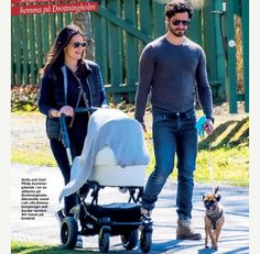 Prince Carl-Philip & Princess Sofia went on a walk with their son