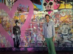 Mr Brainwash - Art Basel 2010