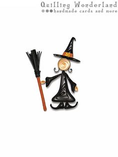 SALE Halloween Best Witches paper quilling by QuillingWonderland