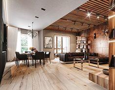 Interior Architecture, Interior Design, Autocad, Loft, Behance, Profile, Gallery, Table, Check
