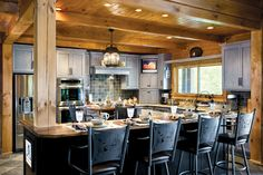 Our Favorite Kitchens | News | Log Cabin Homes