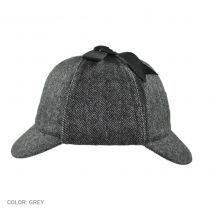 Jaxon Hats Sherlock Holmes Herringbone Wool Blend Hat Novelty Hats - View All Jaxon Hats, Deerstalker Hat, Novelty Hats, Victorian London, Hat Shop, Herringbone Pattern, Sherlock Holmes, Grosgrain Ribbon, Caps Hats