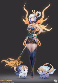 Lunar Empress Lux | Лунная Императрица Люкс @League of Legends @Лига Легенд #LoL #ЛоЛ