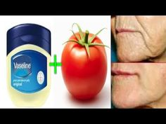 TRUST ME VASELINE AND TOMATO WILL TRANSFORM YOUR SKIN OVERNIGHT - YouTube Turmeric Facial, Turmeric Soap, Vaseline For Face, Dark Circle Cream, Nose Pores, Coconut Oil For Face, Dry Sensitive Skin, Toner For Face, Natural Beauty Tips