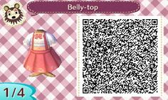 Summer Collection | QR codes - Animal Crossing: New Leaf