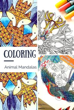 Meet the Maker: Coloring Animal Mandalas with Wendy Piersall (GIVEAWAY!)