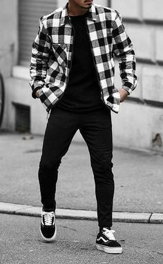 Dope Quiet Look! Dope Quiet Look! - Dope Quiet Look! Dope Quiet Look! Cool Outfits For Men, Stylish Mens Outfits, Casual Outfits, Men Casual, Guy Outfits, Outfit Ideas For Guys, Mens Fall Outfits, Vans Outfit Men, Mode Streetwear