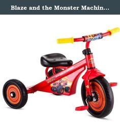 0dde011e1 Blaze and the Monster Machines Tricycle. Tricycle riding fun for your  little one. The