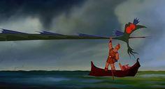 Hercules, strangling the sea serpent